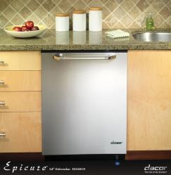 Brand: Dacor, Model: ED24, Color: Stainless Steel with Brass Trim