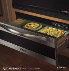 Brand: Dacor, Model: MWDH30S, Style: 30-in. with Horizontal Stainless Steel Trim