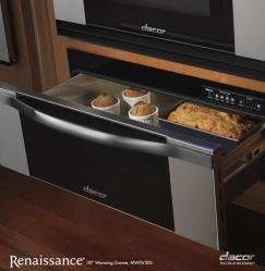 Brand: Dacor, Model: MWDV27S, Style: 30-in. with Vertical Stainless Steel Trim