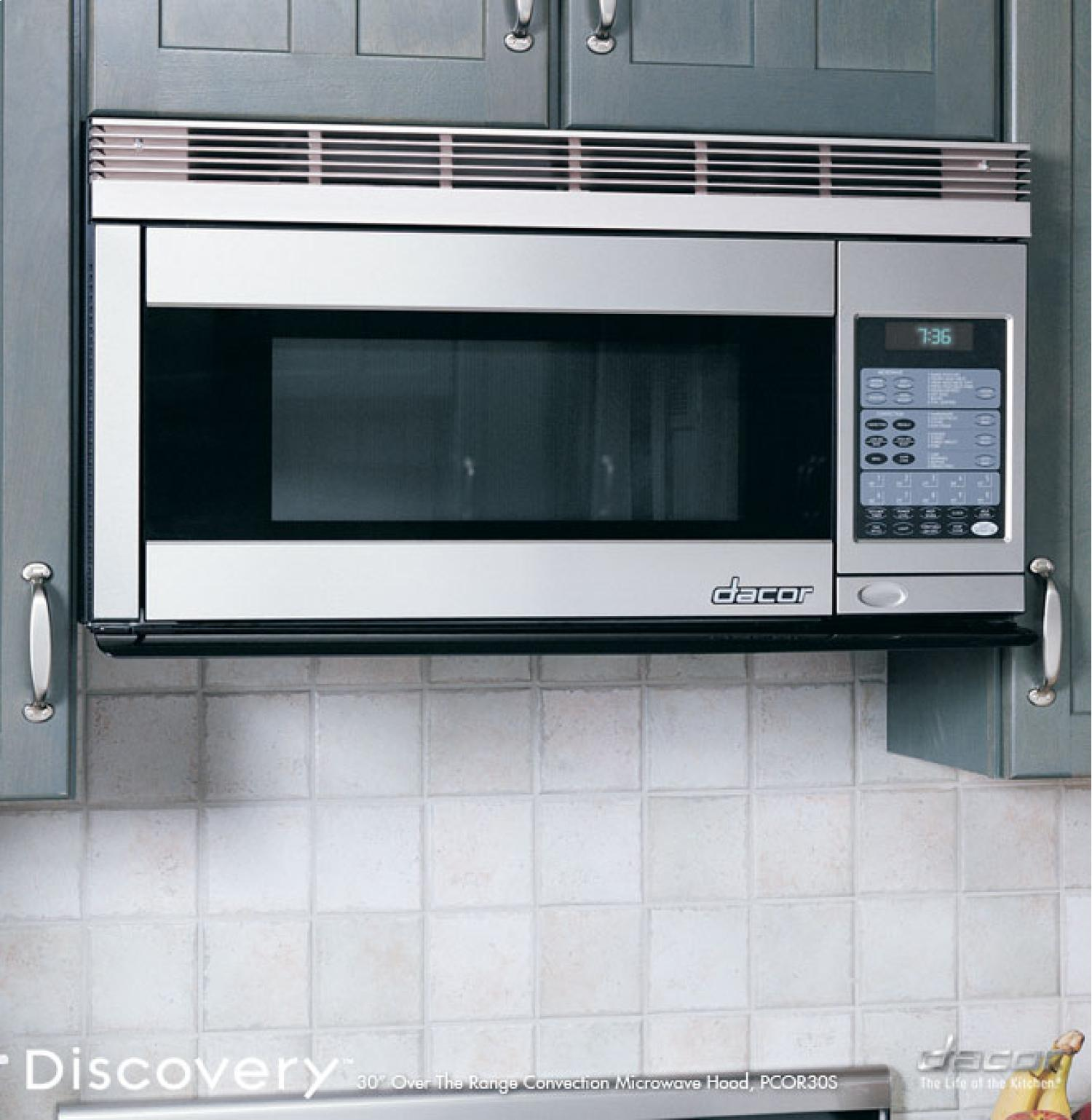 Pcor30 Dacor Pcor30 Discovery Over The Range Microwaves