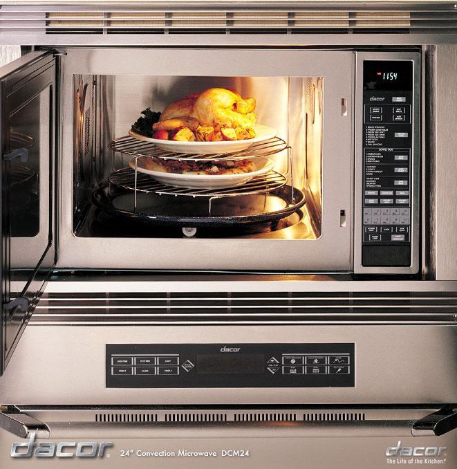 Dacor Microwave Convection Oven: Dacor DCM24S 1.5 Cu. Ft. Countertop Convection Microwave