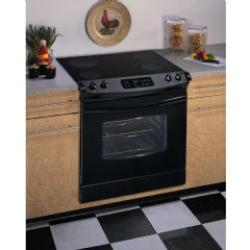 Brand: FRIGIDAIRE, Model: FED365ES, Color: Black on Black