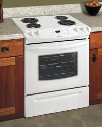 Brand: Frigidaire, Model: FES355ES, Color: White on White