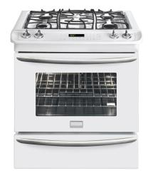 Brand: Frigidaire, Model: FGDS3075KB, Color: White