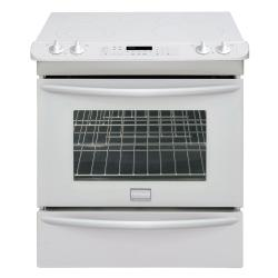 Brand: FRIGIDAIRE, Model: FGES3045KF, Color: White