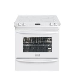 Brand: FRIGIDAIRE, Model: FGES3065KB, Color: White