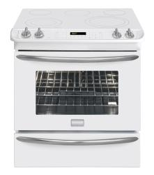Brand: FRIGIDAIRE, Model: FGES3075KW, Color: White
