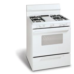 Brand: FRIGIDAIRE, Model: FGF316D, Color: White-on-White