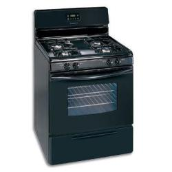 Brand: FRIGIDAIRE, Model: FGF337GS, Color: Black on Black