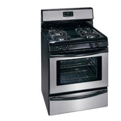 Brand: Frigidaire, Model: FGF337GW, Color: Stainless Steel/Black