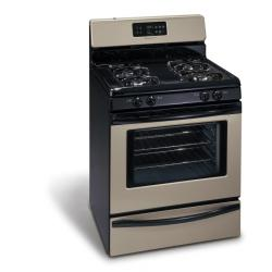 Brand: Frigidaire, Model: FGF368GC, Color: Black with Silver Mist Door and Trim