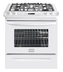 Brand: Frigidaire, Model: FGGS3045KF, Color: White