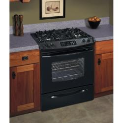 Brand: Frigidaire, Model: FGS365EB, Color: Black on Black