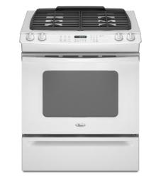 Brand: Whirlpool, Model: GW399LXUQ, Color: White