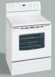 Brand: FRIGIDAIRE, Model: GLEF369DQ, Color: White on White