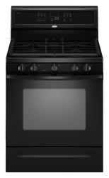Brand: Whirlpool, Model: GFG461LVT, Color: Black