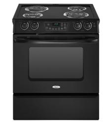Brand: Whirlpool, Model: RY160LXTQ, Color: Black