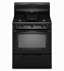 Brand: Whirlpool, Model: WFG231LV, Color: Black