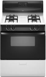 Brand: Whirlpool, Model: WFG114SVT, Color: Black-on-White