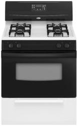 Brand: Whirlpool, Model: SF114PXSQ, Color: Black on White
