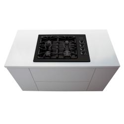 Brand: FRIGIDAIRE, Model: FGGC3045KW, Color: Black