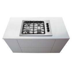 Brand: Frigidaire, Model: FGGC3045KW, Color: Stainless Steel