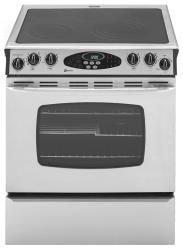 Brand: MAYTAG, Model: MES5875BA, Color: Stainless Steel