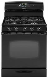 Brand: MAYTAG, Model: MGR5775QDQ, Color: Black