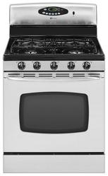 Brand: MAYTAG, Model: MGR5775QDQ, Color: Stainless Steel