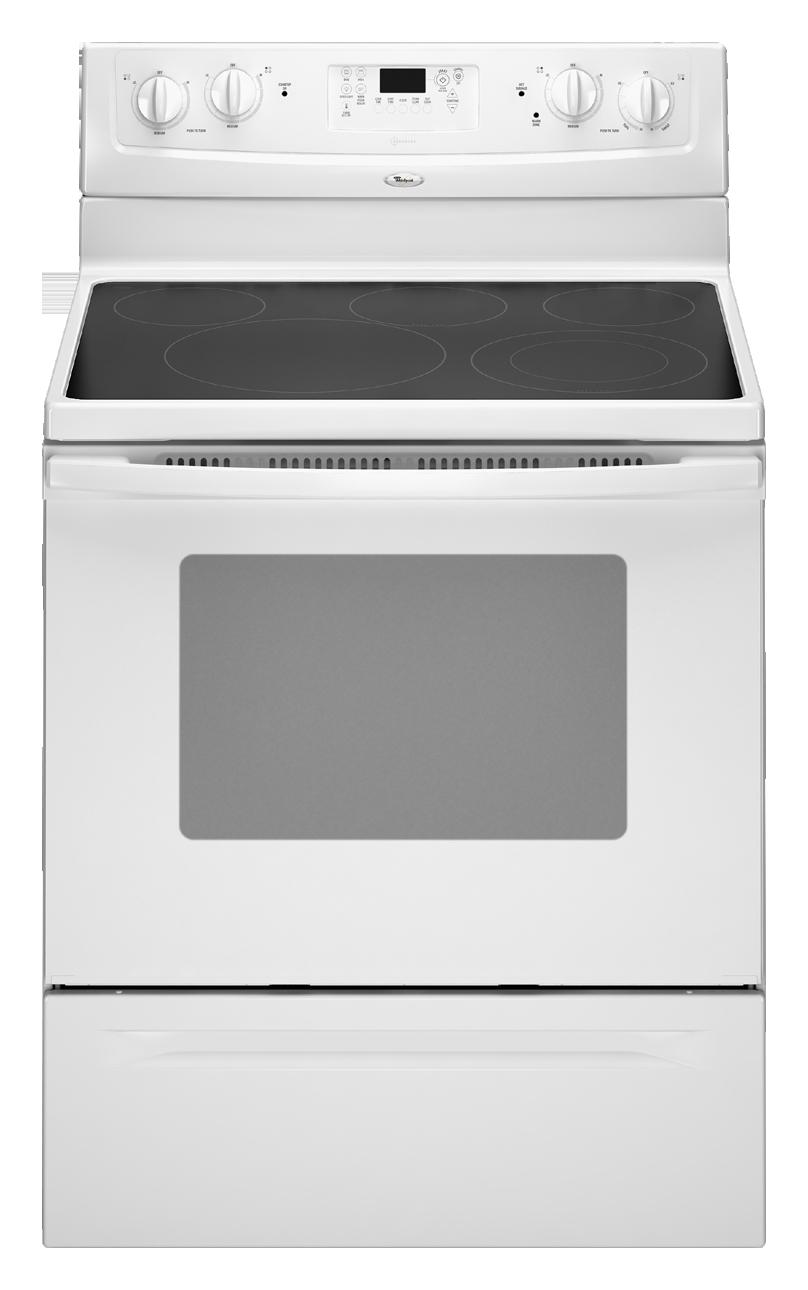 Wfe371lvs Whirlpool Wfe371lvs Electric Ranges