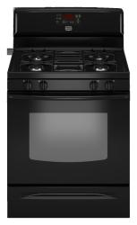 Brand: MAYTAG, Model: MGR7662WQ, Color: Black