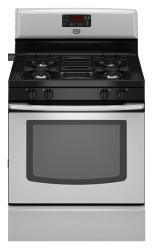 Brand: Maytag, Model: MGR7662WW, Color: Stainless Steel