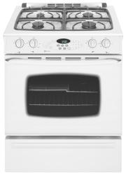 Brand: Maytag, Model: MGS5775BDB, Color: White