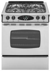 Brand: Maytag, Model: MGS5875BDQ, Color: Stainless Steel