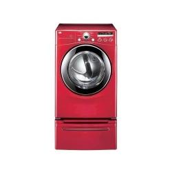 Brand: LG, Model: DLE2301W, Color: Wild Cherry Red
