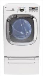 Brand: LG, Model: DLE2601R, Color: White