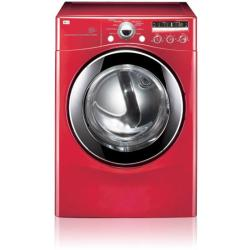 Brand: LG, Model: DLG2302R, Color: Wild Cherry Red