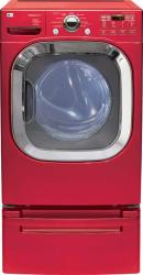 Brand: LG, Model: DLGX2802R, Color: Wild Cherry Red