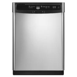 Brand: MAYTAG, Model: MDB7709AWB, Color: Stainless Steel with Black Console