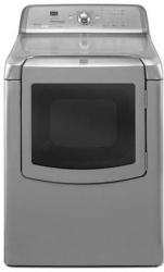 Brand: MAYTAG, Model: MEDB800VB, Color: Silver