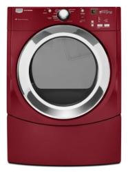 Brand: Maytag, Model: MEDE300VW, Color: Crimson