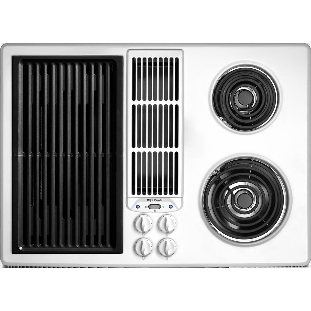 Jenn Air 30 Downdraft Electric Cooktop ~ Jed adb jenn air electric cooktops black