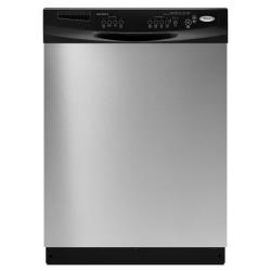 Brand: Whirlpool, Model: DU1055XTVQ, Color: Stainless Steel