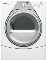 Brand: Whirlpool, Model: WED8300SW, Color: White with Grey Accents