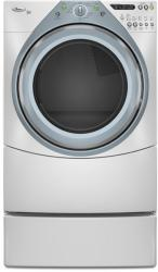 Brand: Whirlpool, Model: WED9400VE, Color: White with Sapphire Blue Accents