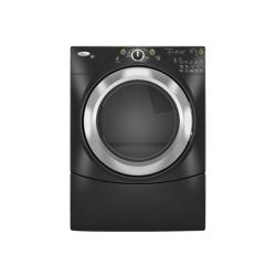 Brand: Whirlpool, Model: WED9400VE, Color: Black with Brushed Chrome Accents