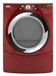 Brand: Whirlpool, Model: WED9550WW, Color: Cranberry Red