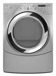 Brand: Whirlpool, Model: WED9550WW, Color: Lunar Silver