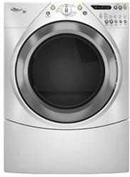 Brand: Whirlpool, Model: WGD9600TA, Color: White with Brushed Chrome Accents