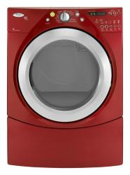 Brand: Whirlpool, Model: WGD9550WR, Color: Cranberry Red